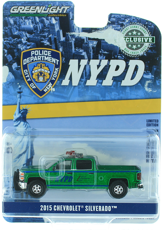 30093-SP - Greenlight Diecast New York City Police Department NYPD 2015