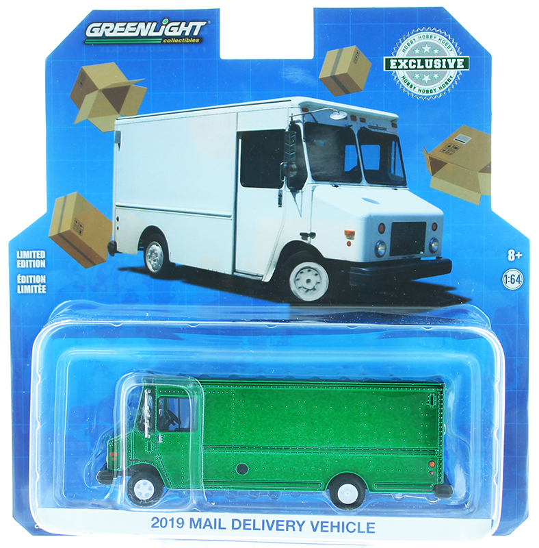 30097-SP - Greenlight Diecast 2019 Mail Delivery Vehicle SPECIAL GREEN MACHINE