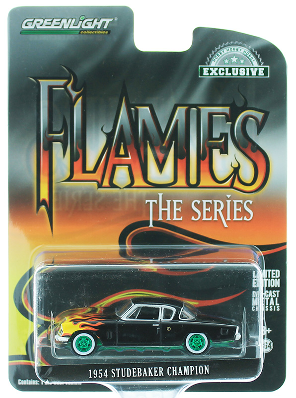 30116-SP - Greenlight Diecast Flames The Series 1954 Studebaker Champion
