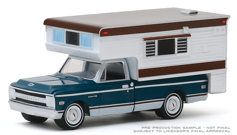 30121 - Greenlight Diecast 1969 Chevrolet C10 Cheyenne