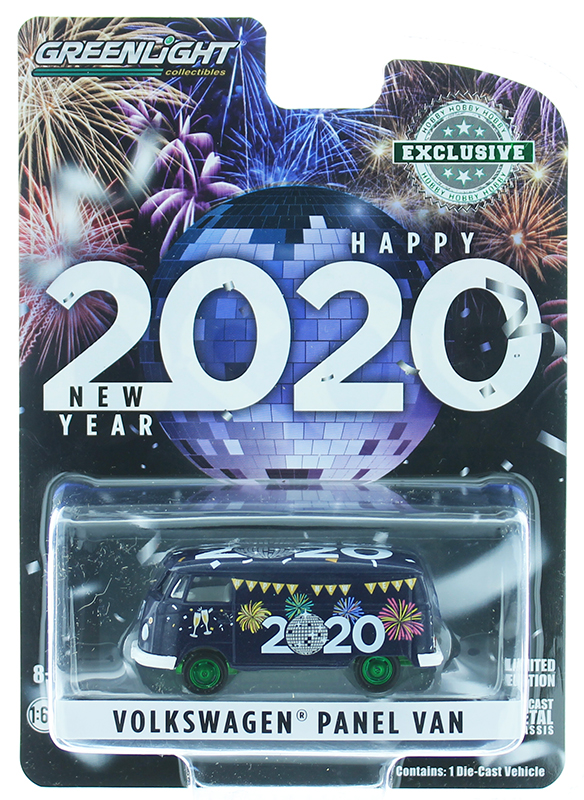 30125-SP - Greenlight Diecast New Year 2020 Volkswagen Type 2 Panel