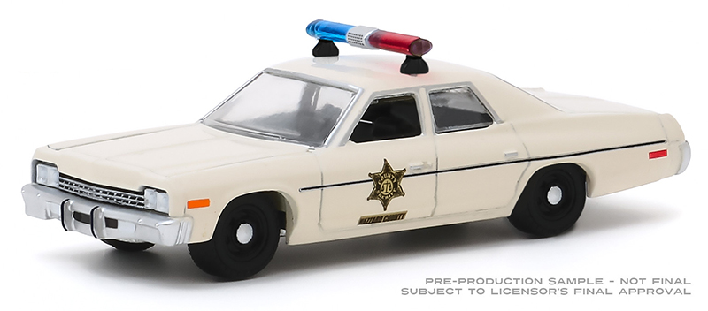 30140 - Greenlight Diecast Hazzard County Sheriff 1975 Dodge Monaco