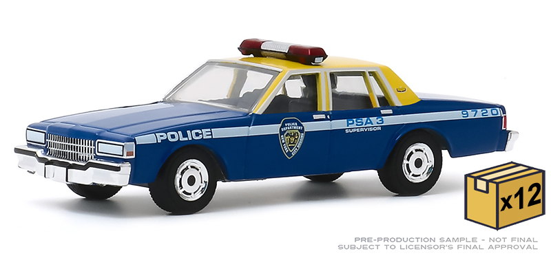 30159-CASE - Greenlight Diecast New York City Housing Authority Police Department