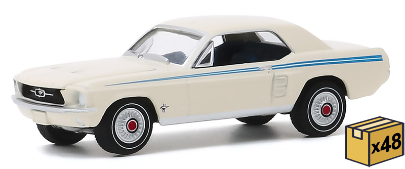 30161-MASTER - Greenlight Diecast 1967 Ford Mustang Coupe Indy Pacesetter Special