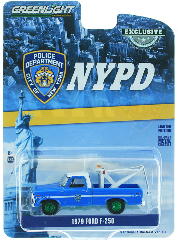 30224-SP - Greenlight Diecast New York City Police Dept NYPD 1979