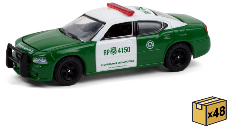 30237-MASTER - Greenlight Diecast Carabineros de Chile Police 2008 Dodge Charger