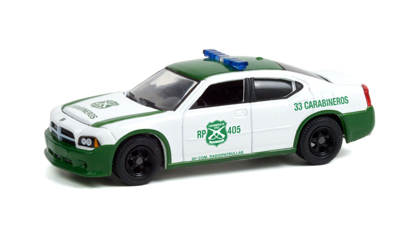 30270 - Greenlight Diecast Carabineros de Chile 2006 Dodge Charger Police