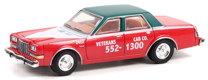 30283 - Greenlight Diecast Veterans Cab Co 1983 Dodge Diplomat