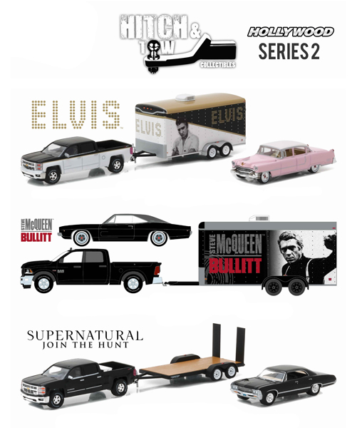 31020-CASE - Greenlight Diecast Hollywood Hitch and Tow Series 2 6