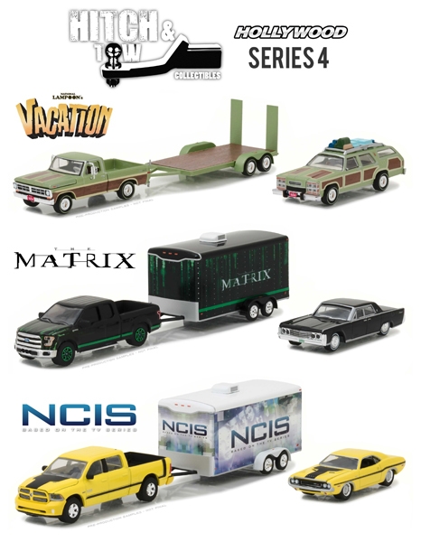31040-SET - Greenlight Diecast Hollywood Hitch and Tow Series 4 3