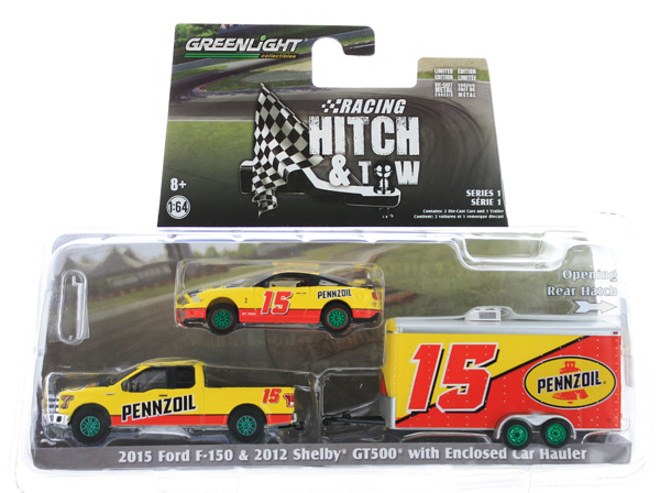 31050-C-SP - Greenlight Diecast Pennzoil 2015 Ford