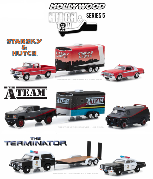 31060-CASE - Greenlight Diecast Hollywood Hitch and Tow Series 5 6