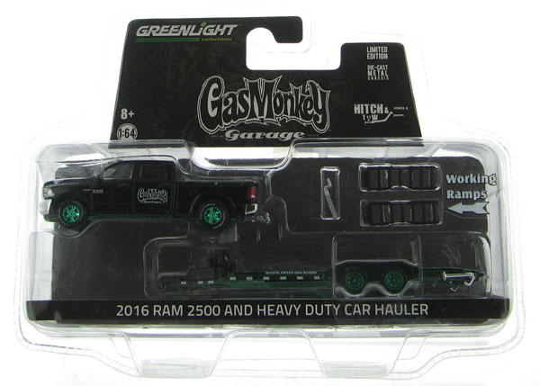 32080-A-SP - Greenlight Diecast 2016 Ram 2500 and Heavy Duty Car