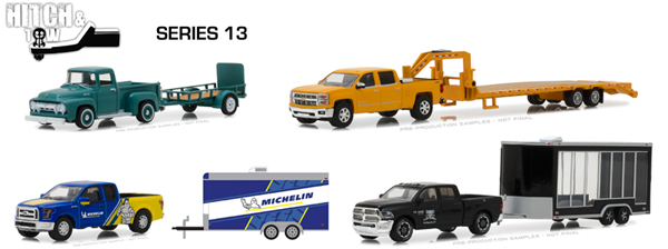 32130-CASE - Greenlight Diecast Hitch and Tow Series 13 12 Piece