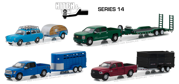 32140-CASE - Greenlight Diecast Hitch and Tow Series 14 12 Piece