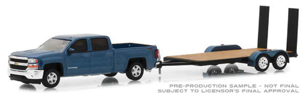 32150-C - Greenlight Diecast 2018 Chevrolet Silverado 1500