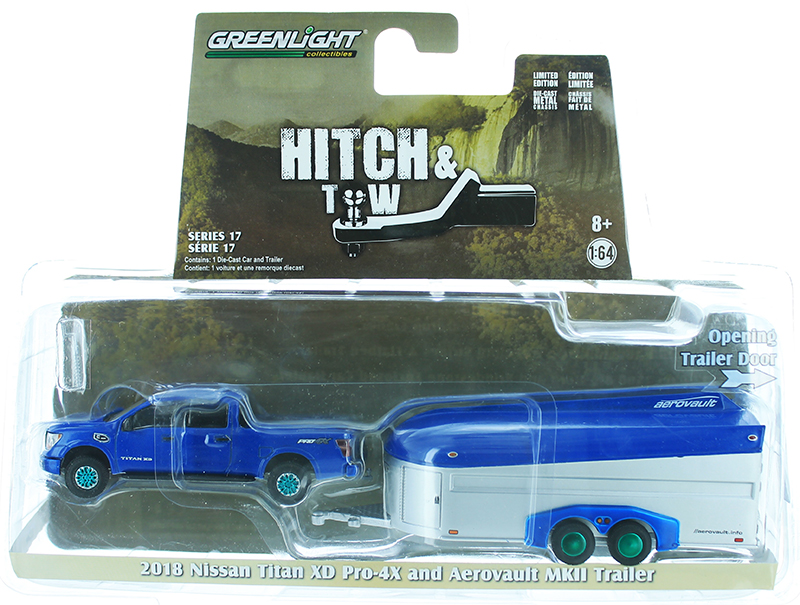 32170-D-SP - Greenlight Diecast 2018 Nissan Titan XD Pro 4X and