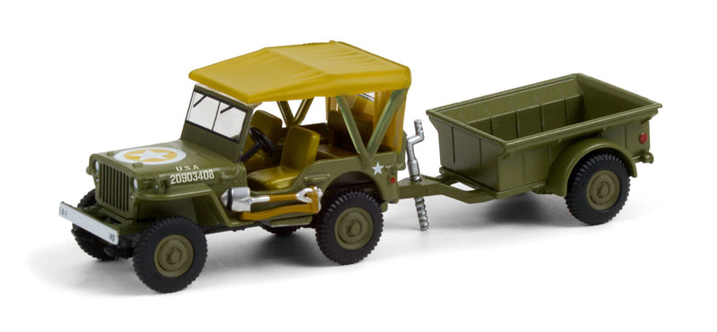 32220-A - Greenlight Diecast 1943 Willys MB Jeep