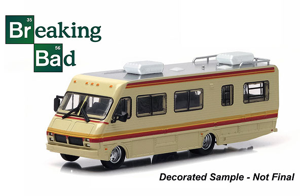 33021 - Greenlight Diecast 1986 Fleetwood Bounder RV Breaking Bad TV