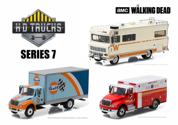 33070-MASTER - Greenlight Diecast Heavy Duty Series 7 48 Piece Master