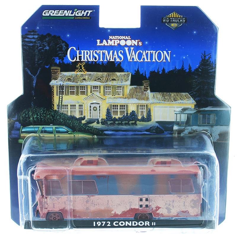 33100-A - Greenlight Diecast Cousin Eddies 1972 Condor II Motorhome Christmas