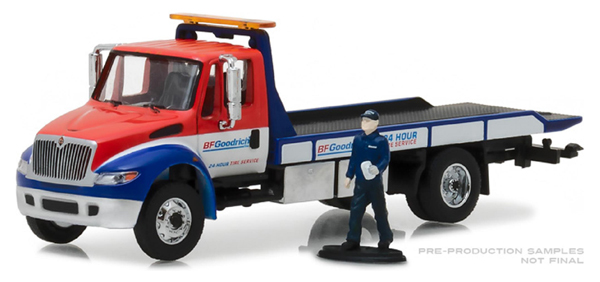 33120-B - Greenlight Diecast BFGoodrich 24 Hour Tire Service 2013 International