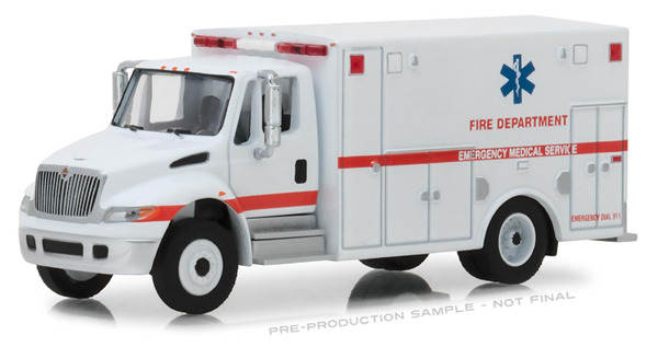 33140-B - Greenlight Diecast Fire Dept Emergency Medical Services ALS Unit