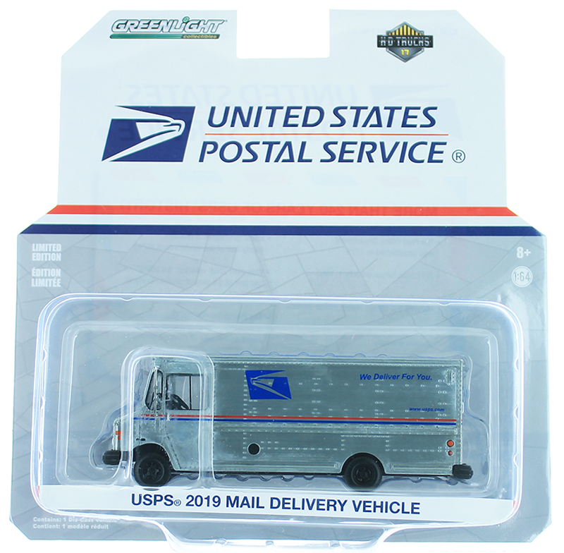 33170-B-SP - Greenlight Diecast United States Post Office USPS 2019 Mail
