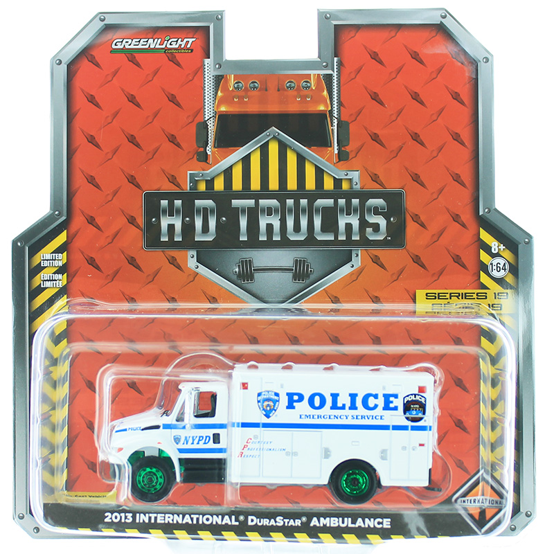 33190-B-SP - Greenlight Diecast New York City Police Department NYPD Emergency