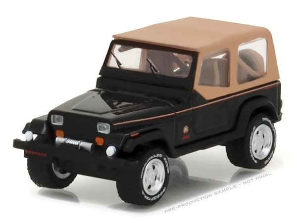 35070-D - Greenlight Diecast 1994 Jeep Wrangler Sahara All Terrain Series