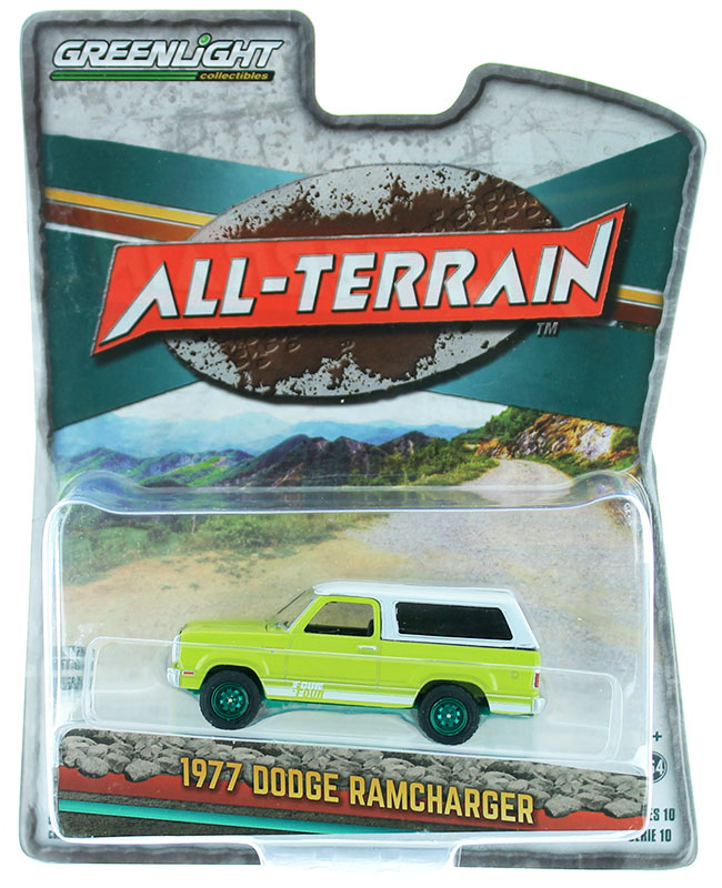 35170-B-SP - Greenlight Diecast 1977 Dodge Macho Ramcharger 4x4