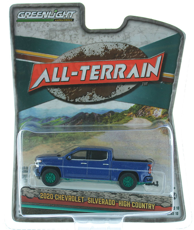 35170-F-SP - Greenlight Diecast 2020 Chevrolet Silverado High Country