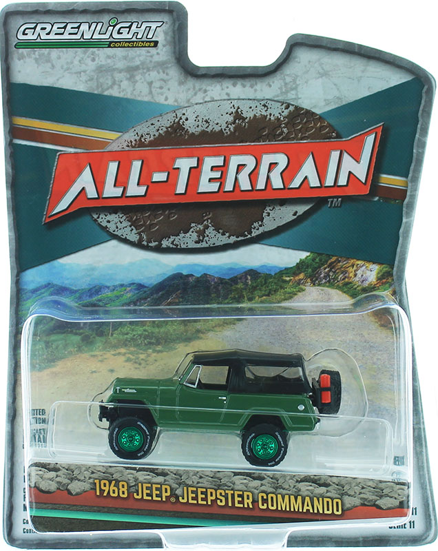 35190-A-SP - Greenlight Diecast 1968 Jeep Jeepster Commando