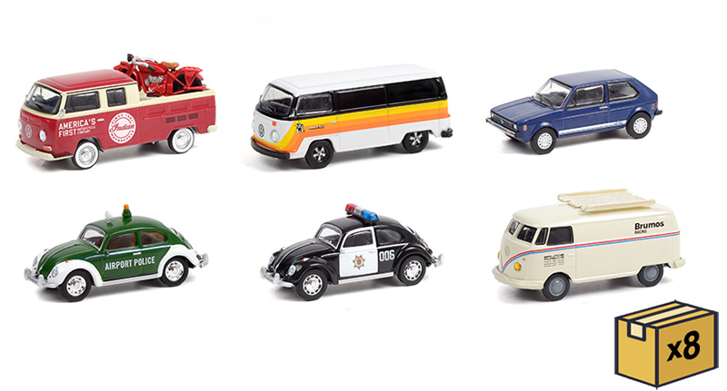 36030-MASTER - Greenlight Diecast Club Vee Dub Series 12 48 Piece
