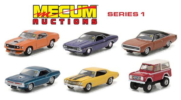 Toys & Hobbies 1970 DODGE CHARGER R/T HEMI ORANGE MECUM SERIES 1 1/64 BY GREENLIGHT 37110 C