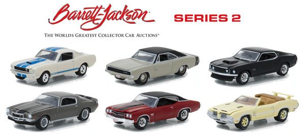 37130-CASE - Greenlight Diecast Barrett Jackson Scottsdale Edition Series 2 6