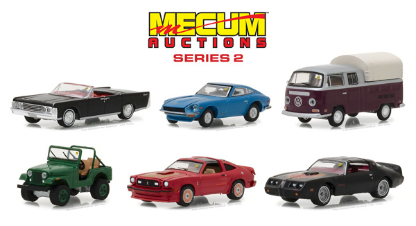 37140-CASE - Greenlight Diecast Mecum Auctions Collector Cars Series 2 6
