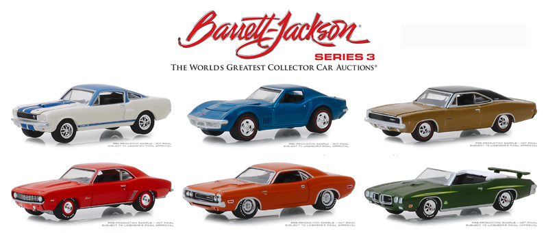 37160-MASTER - Greenlight Diecast Barrett Jackson Scottsdale Edition Series 3 48