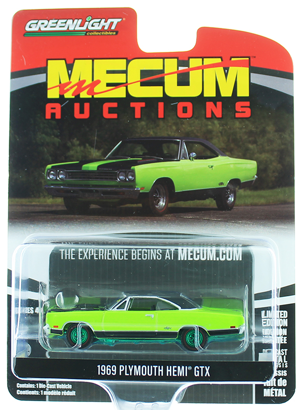 37190-C-SP - Greenlight Diecast 1969 Plymouth HEMI GTX Louisville 2018 SPECIAL