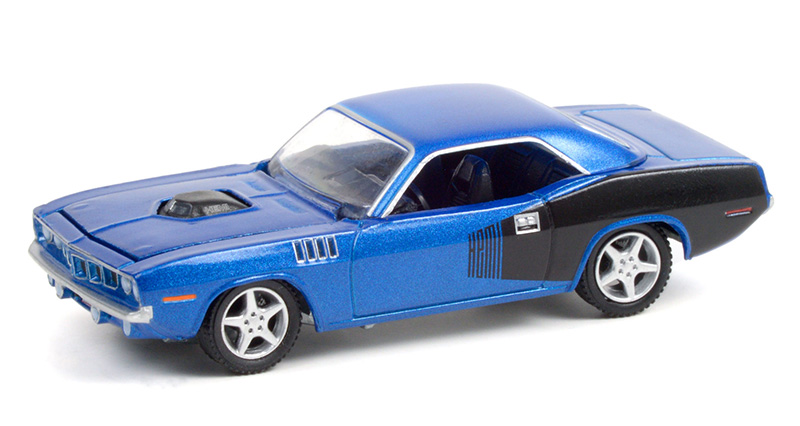 37230-C - Greenlight Diecast 1970 Plymouth Barracuda Custom Hardtop Lot 720