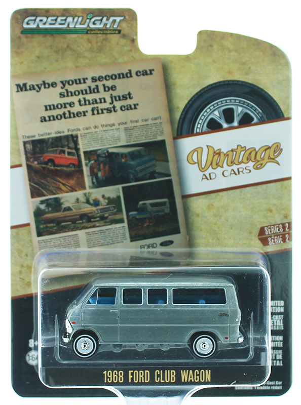 39030-C-SP - Greenlight Diecast 1968 Ford Club Wagon Your Second