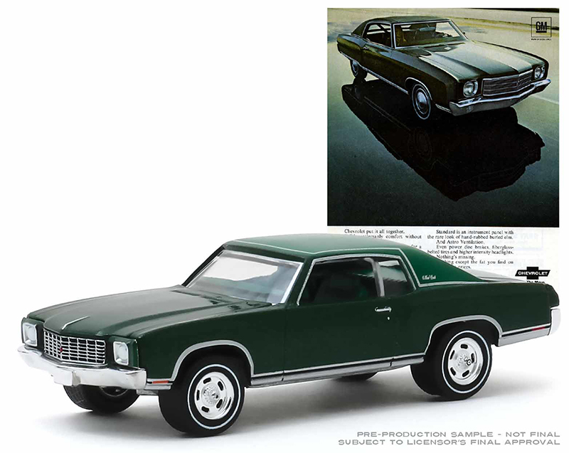 39030-D - Greenlight Diecast 1970 Chevrolet Monte Carlo Group Picture