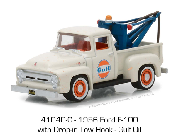 41040-C - Greenlight Diecast Gulf Oil 1956 Ford