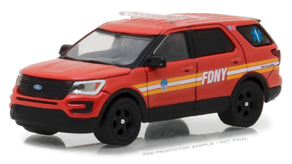 42823 - Greenlight Diecast FDNY 2016 Ford Interceptor Utility