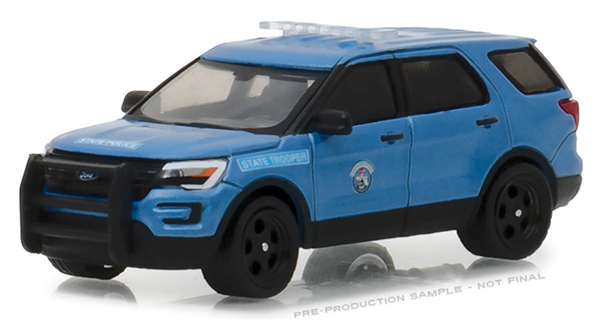 42840-F - Greenlight Diecast Maine State Police 2016 Ford Police Interceptor