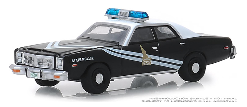 42860-C - Greenlight Diecast Nevada Highway Patrol 1977 Pontiac LeMans Hot
