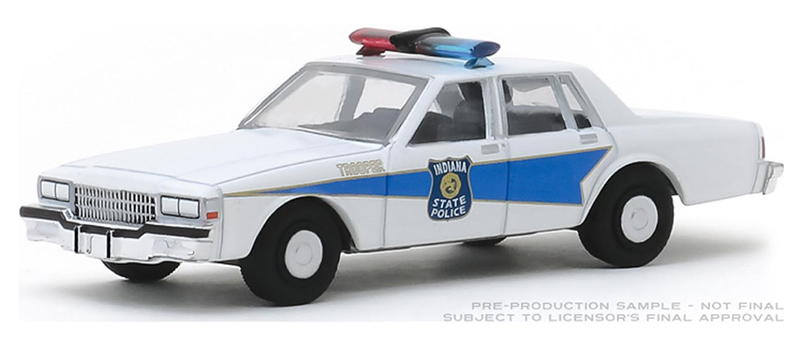 42900-B - Greenlight Diecast Indiana State Police 1986 Chevrolet Caprice Hot
