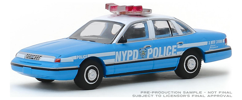 42900-D - Greenlight Diecast New York City Police Department NYPD 1993
