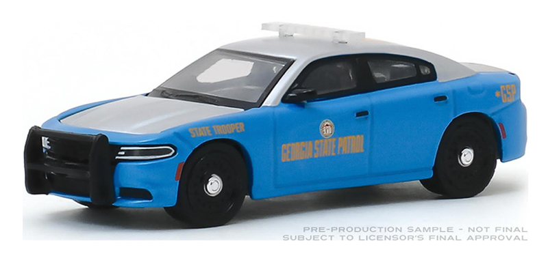 42900-E - Greenlight Diecast Georgia State Patrol 2017 Dodge Charger Hot