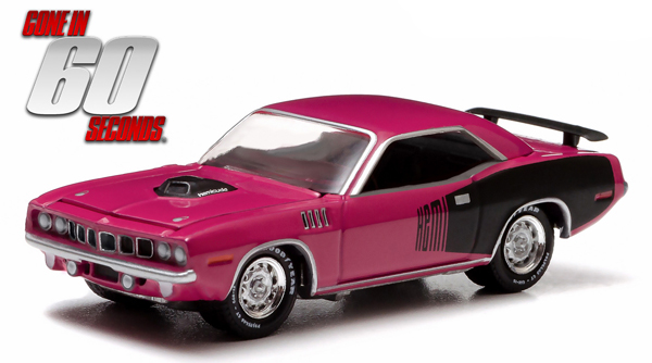 44670-F - Greenlight Diecast Shannon 1971 Plymouth HEMI Cuda Gone